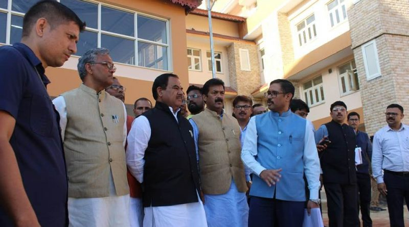 CM Trivendra Singh Rawat is attending cabinet Meeting in Almora