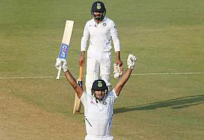 Ind Vs Ban 1st Test : Agarwal double headlines India's domination over Bangladesh