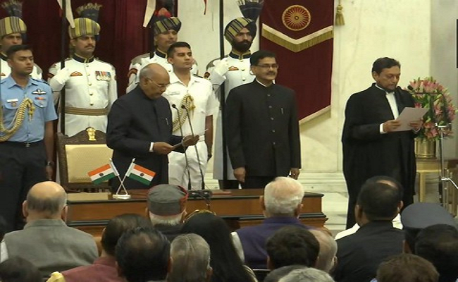 Justice Bobde takes oath as 47th CJI of India