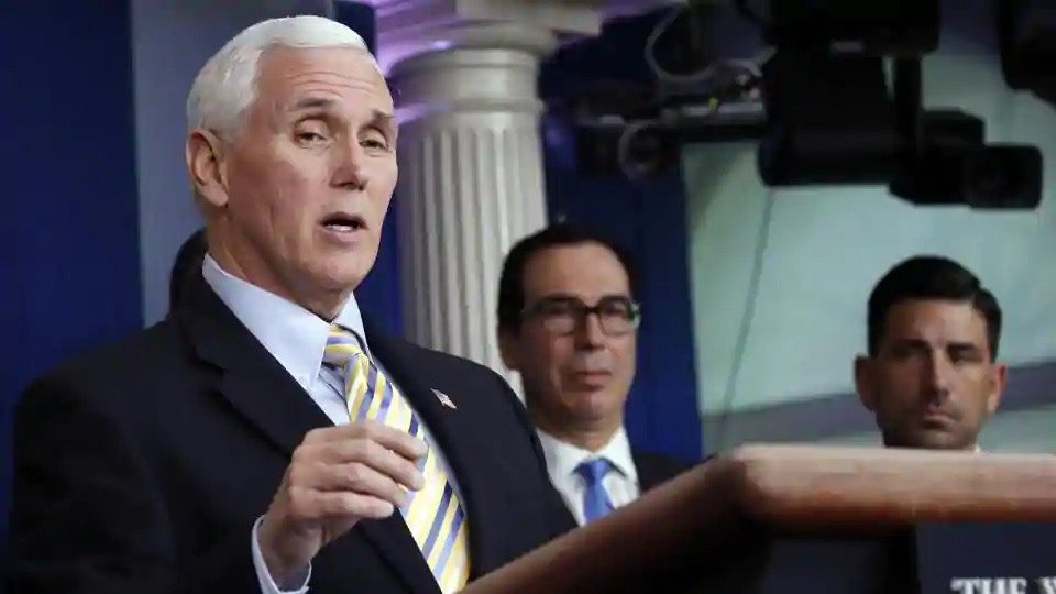 Covid-19: US Vice Prez Pence to not self-quarantine after aide tests positive
