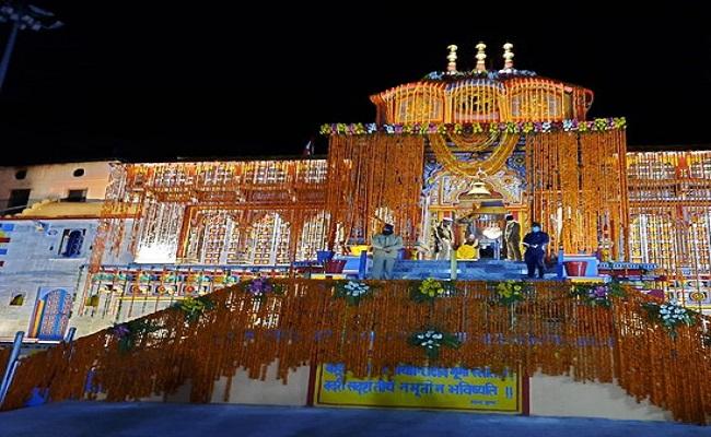 The portals of Badrinath Temple opened, first Prayer on behalf PM Modi