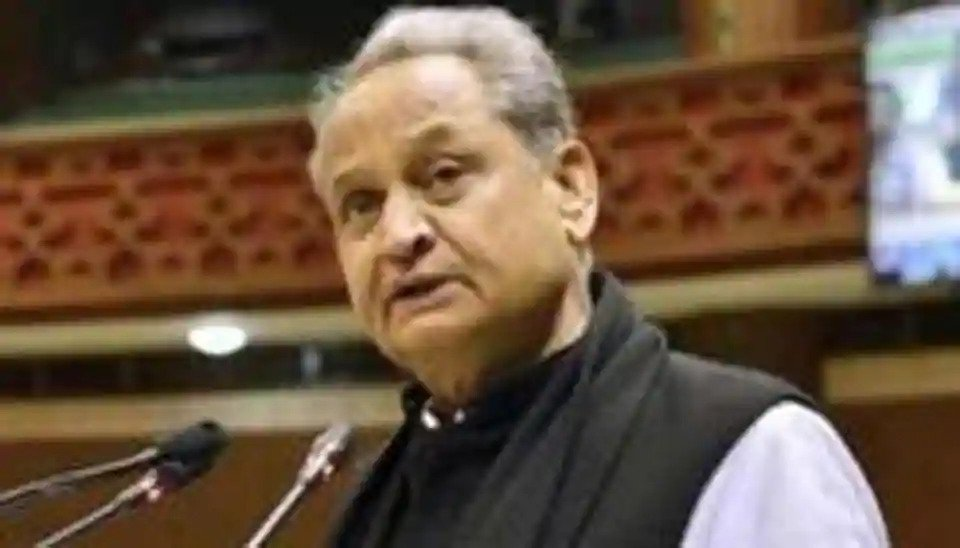Man attempts to commit suicide near Rajasthan CM Ashok Gehlot's residence