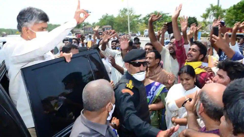 Chandrababu Naidu in Amaravati after 60 days, to host mega TDP meet via Zoom