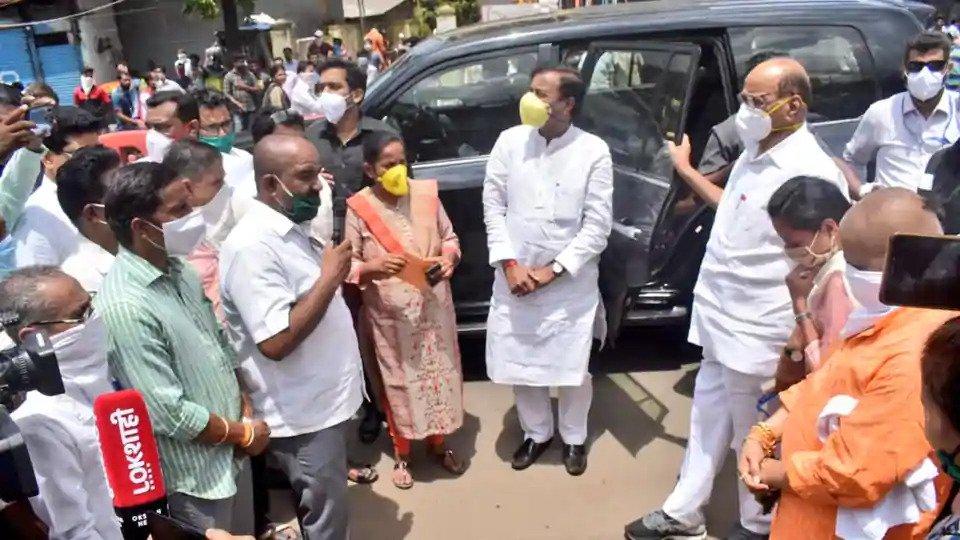 Sharad Pawar visits cyclone-hit Maharashtra's Raigad