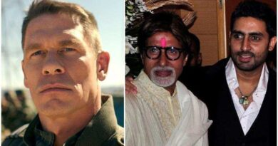 John Cena shares no-caption pic of Amitabh Bachchan and Abhishek