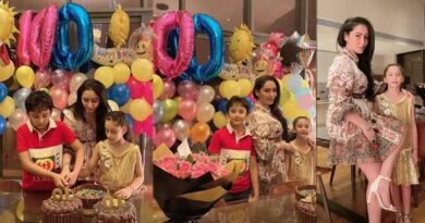 Sanjay Dutt's wife Maanayata throws one more birthday party for kids