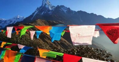 As winter approaches, tourists flock to hilly areas in Nepal