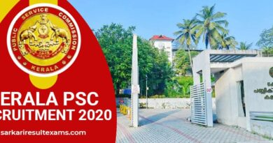Kerala PSC Recruitment 2020: Application process for 186+ vacancies