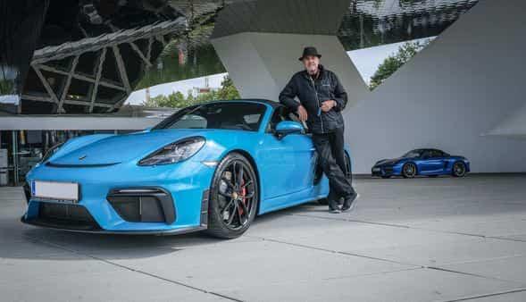 80-year-old buys 80th Porsche, brand loyalty underlines his mammoth garage