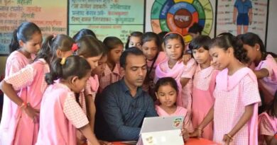 Global award for Maharashtra zilla parishad school teacher