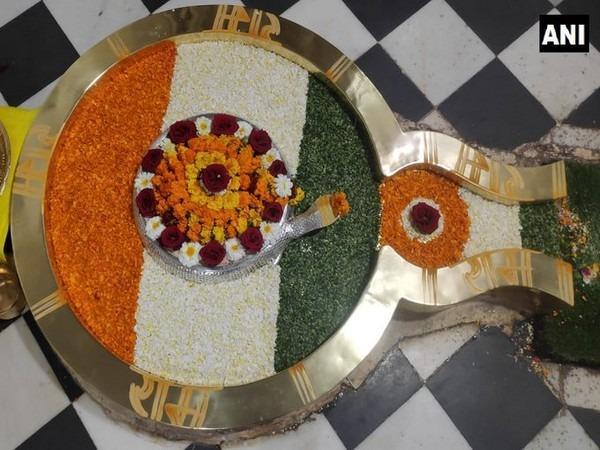 Republic Day: 'Shivalinga' at Rishikesh Temple adorned with tricolour