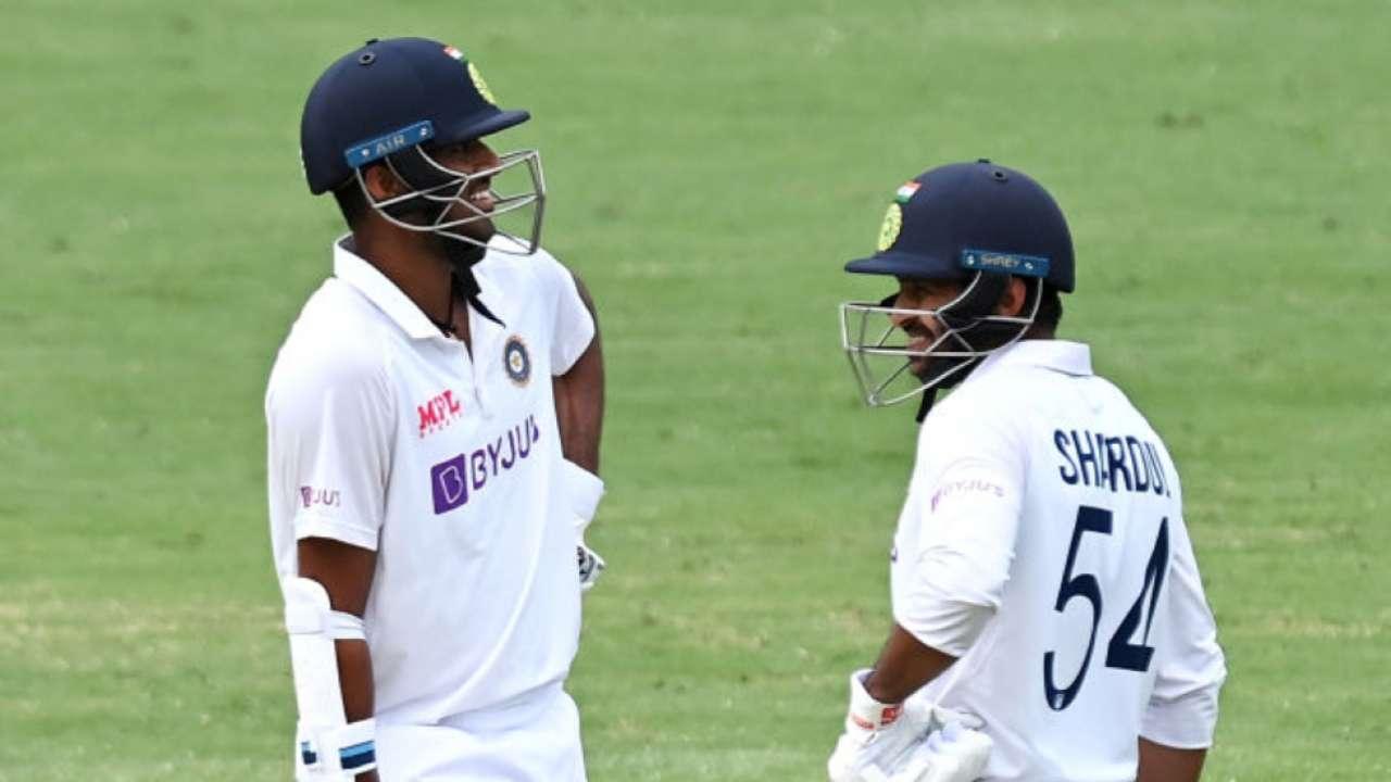 Sundar and Thakur lead India's resistance in Brisbane test