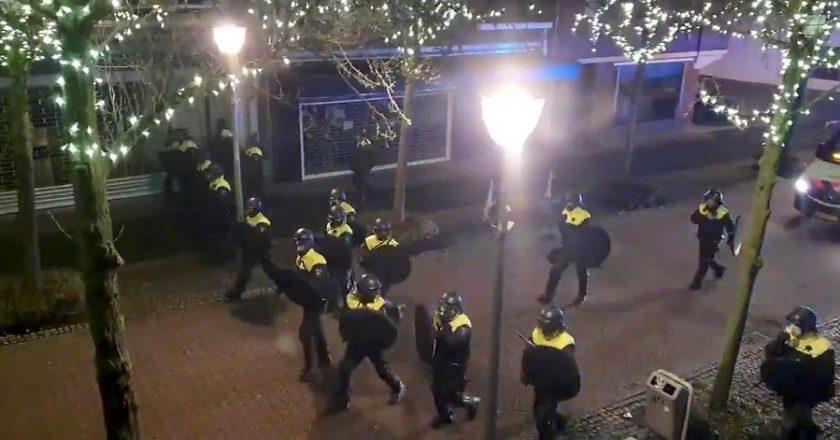 Dutch anti-lockdown riots extend to a third night