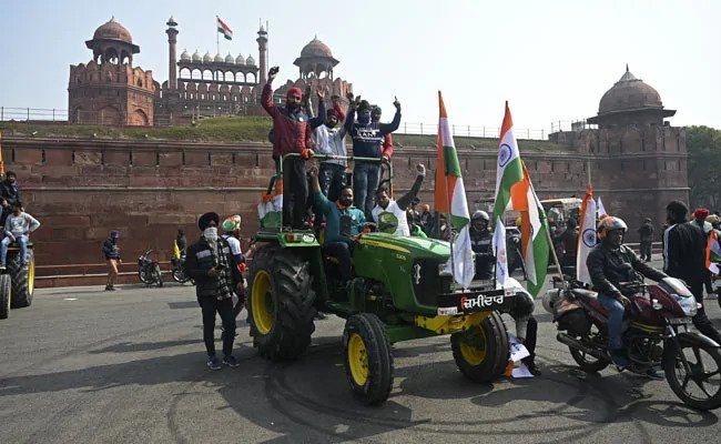 22 FIRs filed in connection with farmers' tractor rally violence
