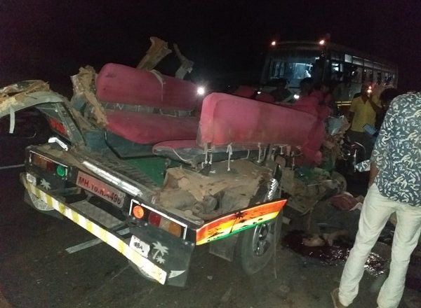 Three killed, seven injured in road accident in Maharashtra's Aurangabad