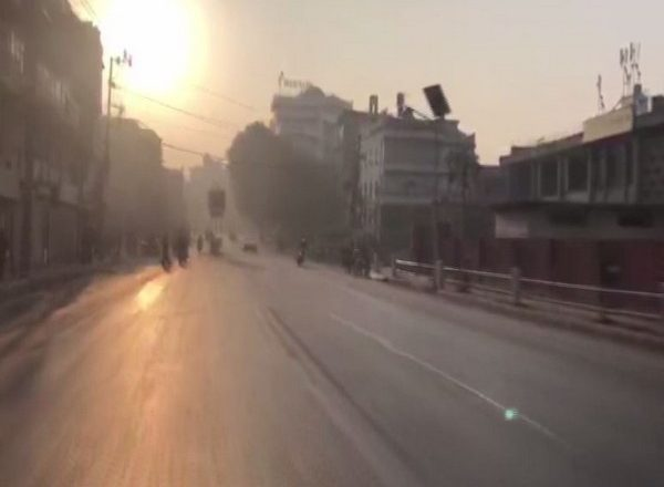 Kathmandu roads wear a deserted look amid general strike by rival NCP faction