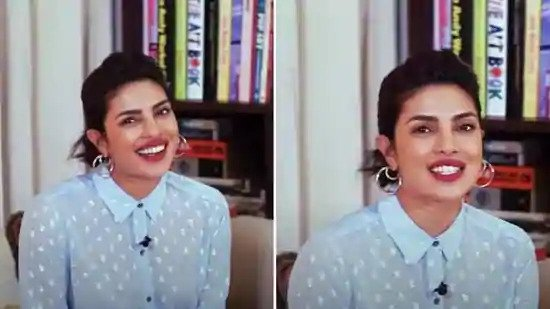 Priyanka Chopra kicks away our Monday blues in ₹7k top for new interview