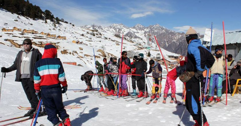 Auli winter games cancelled due to lack of snow