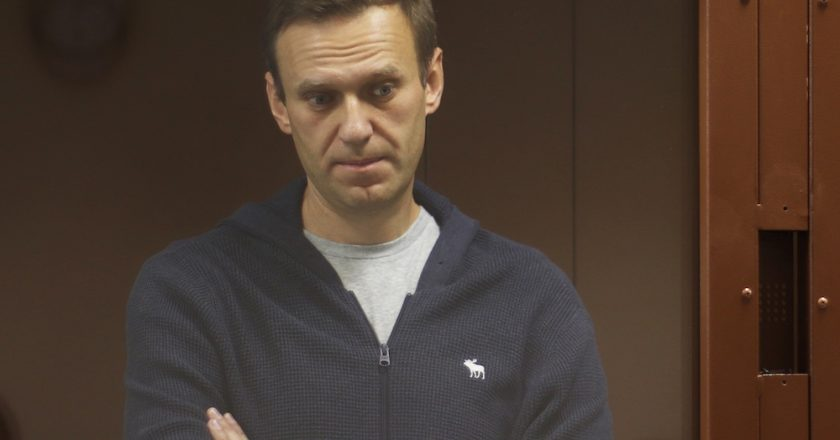 Russia rejects calls from Europe court to release Navalny