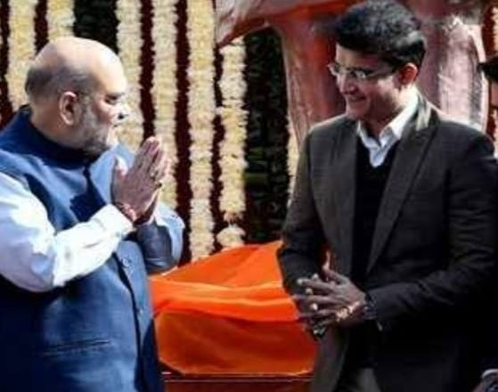 BJP likes Saurav Ganguly's 'face' for Bengal elections once again