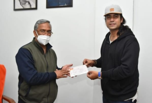 Bollywood singer Zubin Nautiyal donated Rs 13.91 lakhs  for disaster relief measures in Uttarakhand