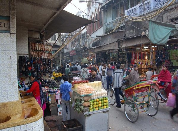 Traffic routes diverted for redevelopment work at Delhi's Chandni Chowk