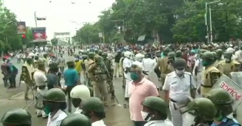 Six BJP workers injured in bombing incident in West Bengal