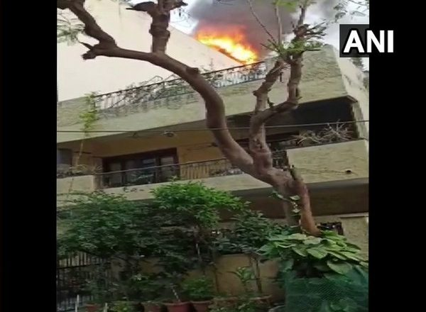 Fire breaks out at house in Delhi's Greater Kailash, 3 rescued