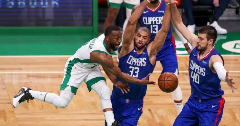Joker's wild as Nuggets thrash Bucks, Celtics down Clips