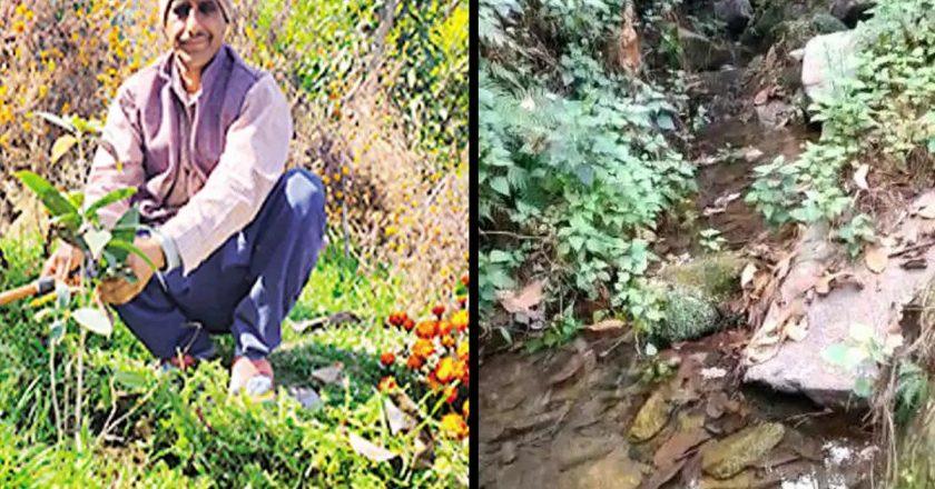 PM Modi mentions Bageshwar farmer, 55, who revived dead spring