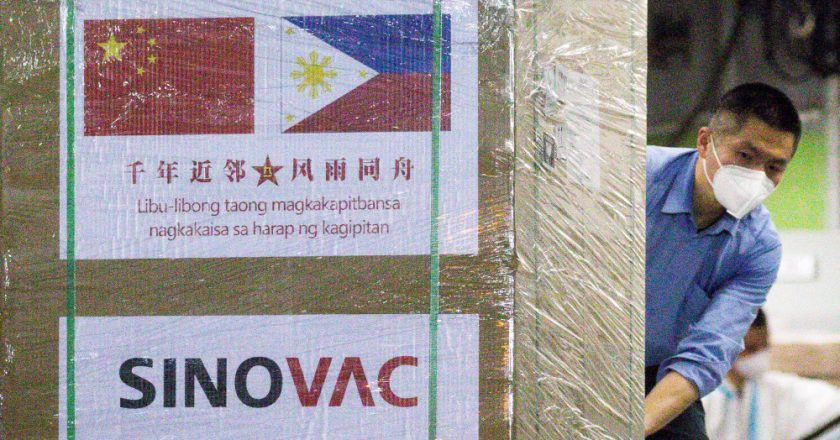 'Light' after darkness as Philippines Covid-19 vaccinations begin