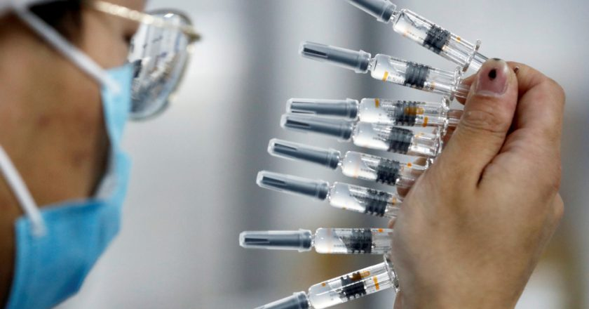 Ukraine to fine supplier over late delivery of Chinese Covid-19 vaccines