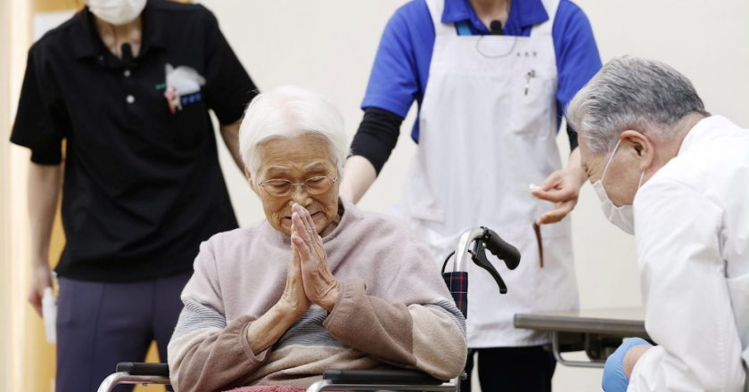 Japan begins Covid-19 shots for over 65s as fourth infection wave looms