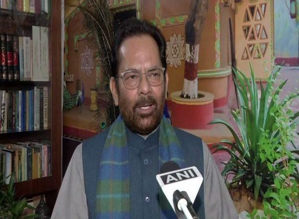"""Union Minister Mukhtar Abbas Naqvi calls PM Modi """"Sankat Mochan"""