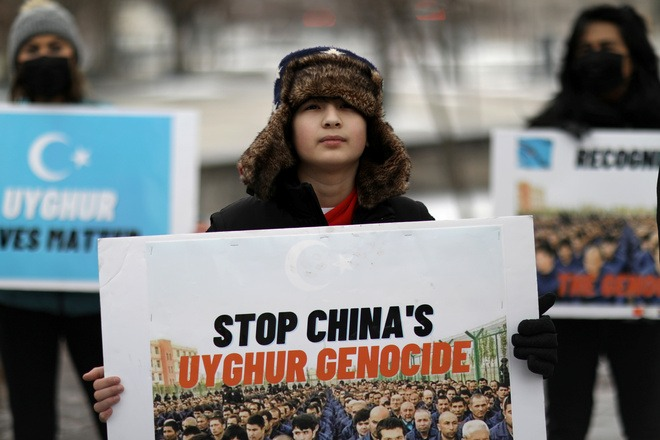 US blasts China over 'genocide', Russia for targeting critic Navalny