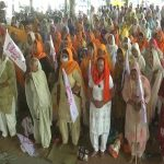 Farmers stage protest against farm laws in Amritsar