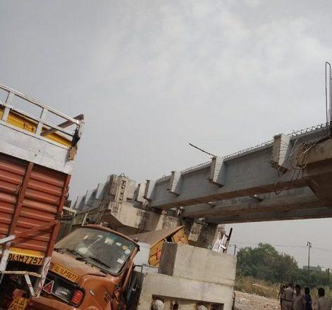 Delhi: Part of under-construction bridge collapses in Punjabi Bagh